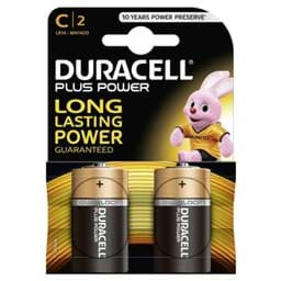 Bild von Duracell Plus Power MN1400 Baby  2er Blister